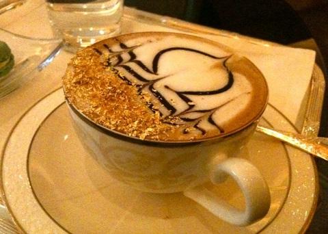 Un cappuccino da sceicchi