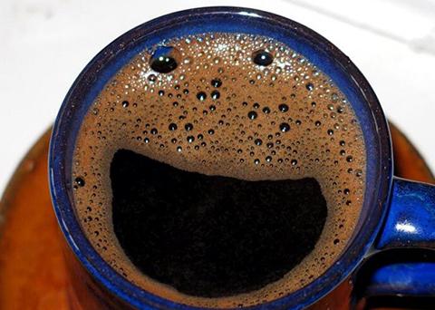 Maschera di caffè