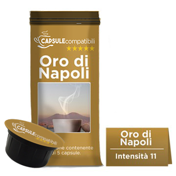 Oro di Napoli - Capsule compatibili per Caffitaly