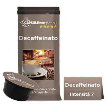 Decaffeinato - Capsule compatibili per Caffitaly
