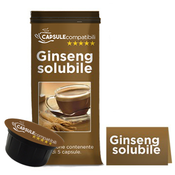 Ginseng Solubile - Capsule compatibili per Caffitaly