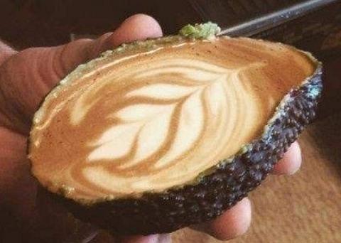 Caffè e avocado