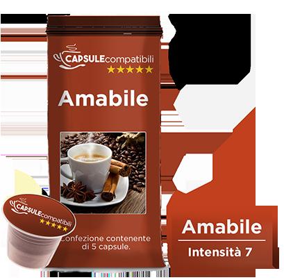 Amabile - Capsule compatibili per Nespresso