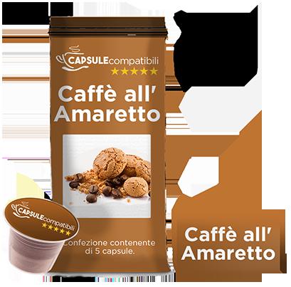 Caffè all'Amaretto - Capsule compatibili per Nespresso