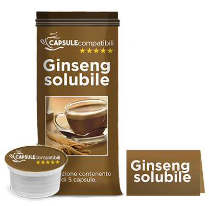 Ginseng solubile - Capsule compatibili Lavazza Espresso Point