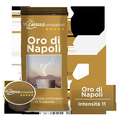 Oro di Napoli - Capsule compatibili Lavazza A Modo Mio