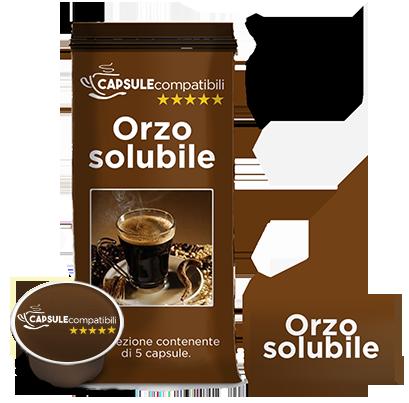 Orzo solubile - Capsule compatibili Lavazza A Modo Mio