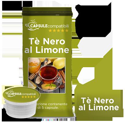 Tè al Limone zuccherato - Capsule compatibili Lavazza Espresso Point