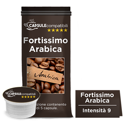 Fortissimo Arabica - Capsule compatibili Lavazza Espresso Point
