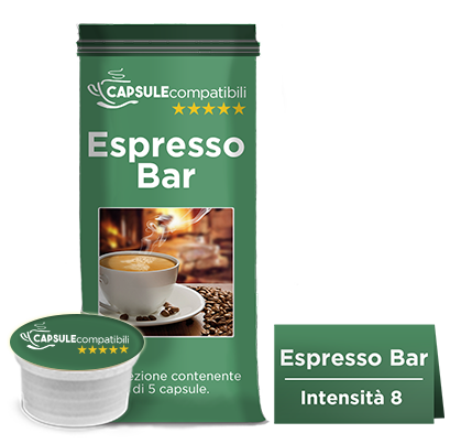 Cremoso/Espresso Bar - Capsule compatibili Lavazza Espresso Point