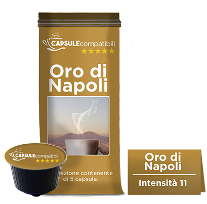 Oro di Napoli - Capsule compatibili Dolce Gusto