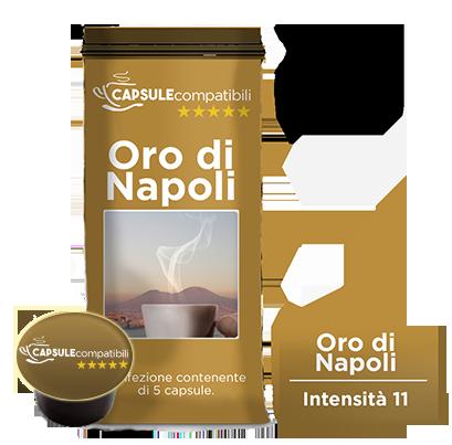 Oro di Napoli - Capsule compatibili Lavazza Blue
