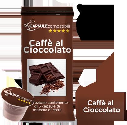 Caffè al Cioccolato- Capsule compatibili per Nespresso