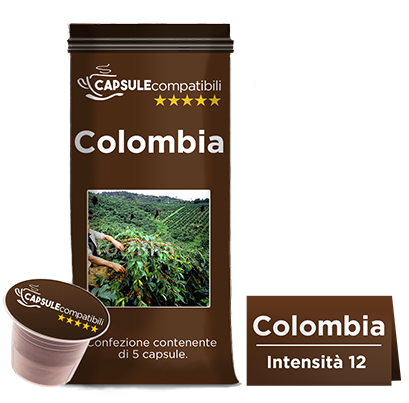 Colombia - Capsule compatibili per Nespresso