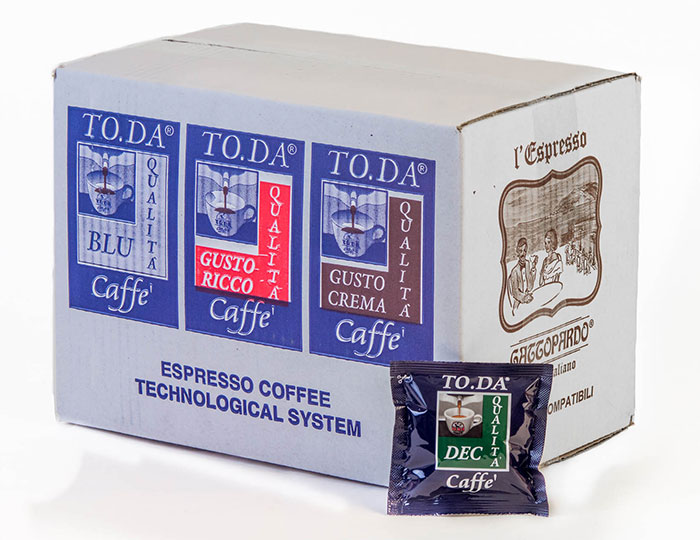 Immagine 3 Decaffeinato Toda - Cialde in carta  ESE 44mm