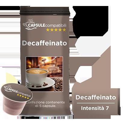 Decaffeinato - Capsule compatibili per Nespresso