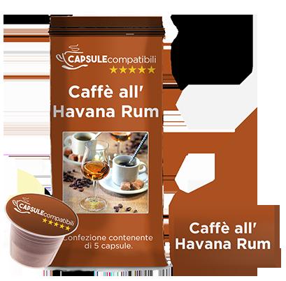 Caffè all'Havana Rum - Capsule compatibili Nespresso