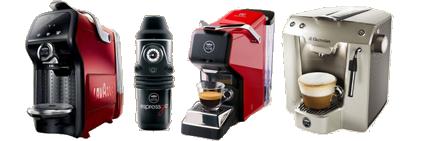 Macchine caffè sistema Lavazza a Modo Mio