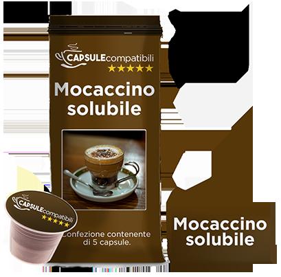 Mocaccino solubile - Capsule compatibili per Nespresso