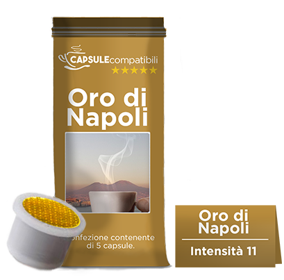 Oro di Napoli - Capsule compatibili Illy Uno System