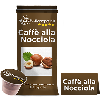 Caffè alla Nocciola - Capsule compatibili Nespresso