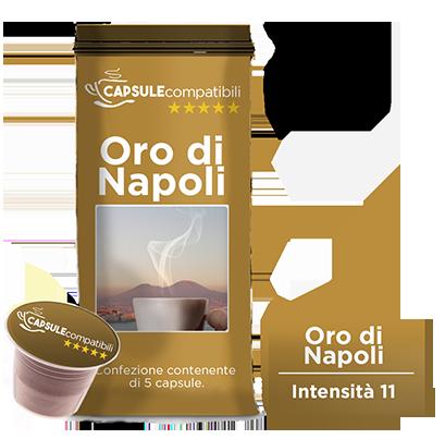 Oro di Napoli - Capsule compatibili per Nespresso