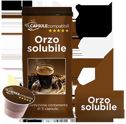 Orzo solubile - Capsule compatibili per Nespresso