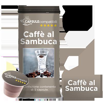 Caffè al Sambuca - Capsule compatibili per Nespresso
