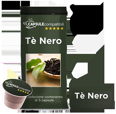 Tè Nero - Capsule compatibili per Nespresso