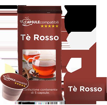 Tè Rosso - Capsule compatibili per Nespresso