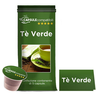 Tè Verde - Capsule compatibili per Nespresso