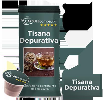 Tisana Depurativa - Capsule compatibili per Nespresso