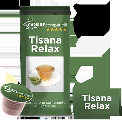 Tisana Relax - Capsule compatibili per Nespresso