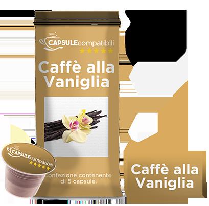 Caffè alla Vaniglia - Capsule compatibili per Nespresso